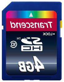 Transcend 4GB Class 10 SDHC Card