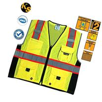 KwikSafety Class 2 Executive Deluxe Safari Safety Vest |