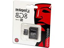 Kingston Digital 16 GB Class 4 microSDHC Flash Card with SD