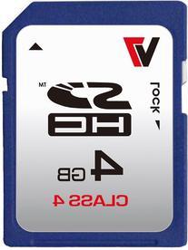 V7 4GB Class 4 SDHC Card - 4 GB