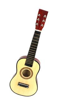 Classic Acoustic Beginners Kid's 6 Stringed Toy Guitar