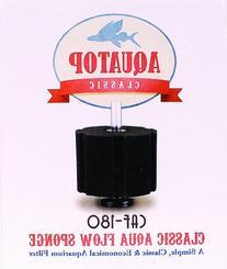 "Classic Aqua Flow Sponge Aquarium Filter Size: 7.9"" H x 6.5"