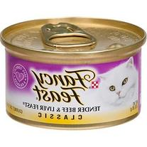 Fancy Feast Classic Beef and Liver Wet Cat Food