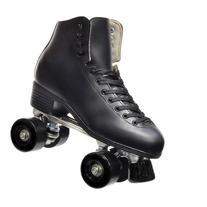 Epic Classic Black Quad Roller Skates