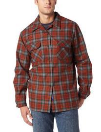 Pendleton Men's Classic Board Shirt, Rust, Medium