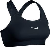 Women's Nike Pro Classic Sports Bra Black/White Size X-Large