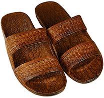 Pali Hawaii Adult Classic Brown Jandals Sandals 12