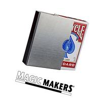 Magic Makers Classic Card Guard - Stainless Steel Poker Size