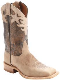 Ladies Classic Cowboy Leather J-Flex Comfort System Cowhide