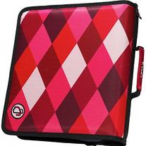 The Classic - Limited Edition 3 Ring Zipper Binder | Red