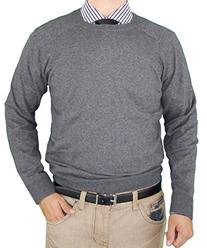 Luciano Natazzi Classic Fit Crew Neck Premium Cotton Sweater