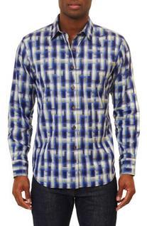 Men's Robert Graham Classic Fit Sport Shirt, Size Medium -