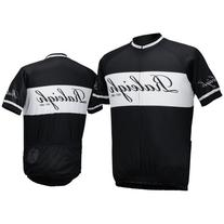 Raleigh Classic Jersey - Black And White With Classic Script