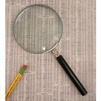 """The Classic Magnifying Glass 3"""" with Powerful 5X"""