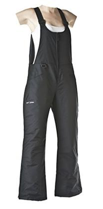 Arctix Women's Classic Insulated Snow Overalls Bib, Black,