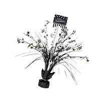 Amscan Classic Spray Party Table Centerpiece, Black/White,