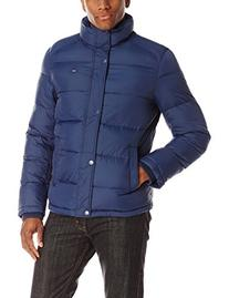 Tommy Hilfiger Men's Classic Puffer Jacket, Navy, Medium