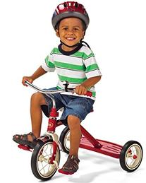 Radio Flyer Classic Red Tricycle, 10-Inch- Children's