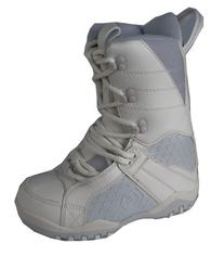 LTD Classic Girl's Snowboard Boots White/Grey 6