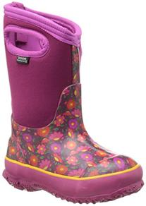 Bogs Classic Sweet Pea Waterproof Insulated Rain Boot ,