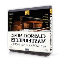 Classical Music Masterpieces: 625 Works CD Set