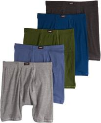 Hanes Men's 5 Pack Ultimate Comfort Soft Waistband Boxer