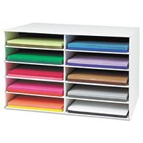 Pacon Classroom Keepers Construction Paper Storage for 12 x