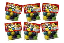 TNT Clay Smoke Balls #1 Selling Brand, Assorted Colors - 36