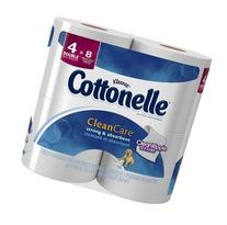 Cottonelle Clean Care Toilet Paper, Double Roll, 4 pk
