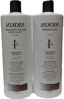 Nioxin System 1 Cleanser & Scalp Therapy Duo Set 33.8oz