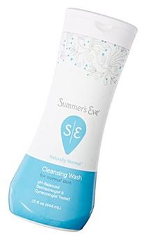 Summer's Eve Cleansing Wash, Naturally Normal, 15 Ounce