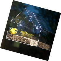 Evelots Clear Acrylic Window Bird Feeder, Strong All Weather