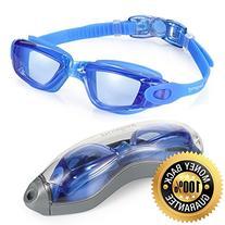 Swim Goggles, Aegend Clear Swimming Goggles No Leaking Anti