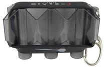 Clear Black L-Style Krystal Flight Case For Champagne