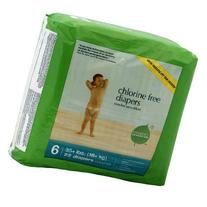 Seventh Generation Free & Clear Diapers, Stage 6, 35 Plus