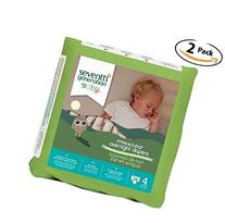 Seventh Generation Baby Free & Clear Overnight Diapers,