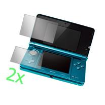 GTMax 2x Clear LCD Screen Protector Film Guard for Nintendo