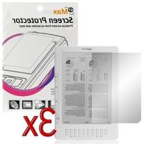 Premium Clear Reusable LCD Screen Protector - 3 Packs for