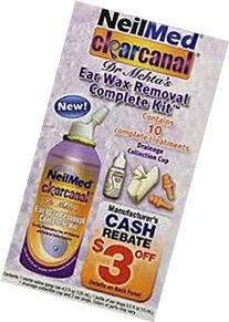 NeilMed Clearcanal Ear Wax Removal Complete Kit, 4.2 Fluid