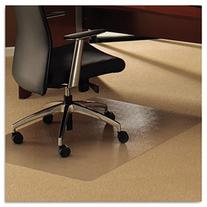 ClearTex Ultimat Chair Mat for Plush Pile Carpets, 48 x 60,
