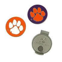 Clemson Tigers Hat Clip and Ball Markers