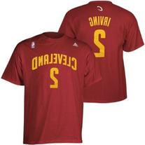adidas Men's Cleveland Cavaliers Kyrie Irving Player T-Shirt