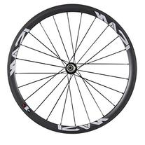 ICAN 38mm Clincher Wheel Rear Carbon for Road Bike 24 Holes