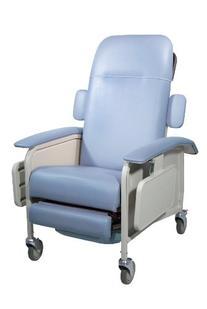 Drive Medical Clinical Care Geri Chair Recliner, Blue Ridge