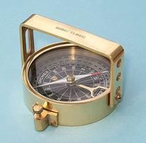 Clinometer Handle Brass Nautical Compass