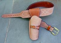 Clint Eastwood Holster Rig - Cowboy Western Gun Belt - Sizes