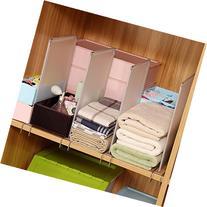 Closet divider shelf divider closet organizer