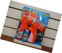 Clown Fish Bubble Gun with Lights and Sound
