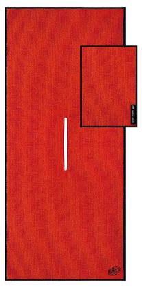 Club Glove Tandem Towel-Red