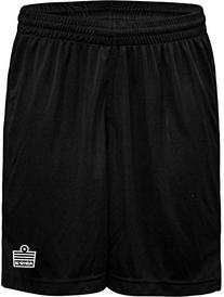 Admiral Club Ready-to-Play Soccer Shorts, Black/White, Adult